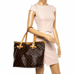 Louis Vuitton Monogram Canvas Palermo GM Bag 360946