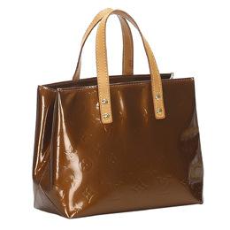 Louis Vuitton Brown Monogram Vernis Reade PM Bag 358808