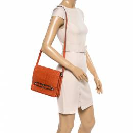 Hermes Pain d' Epice Matte Alligator Roulis 23 Bag 361042