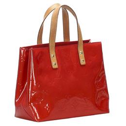 Louis Vuitton Red Monogram Vernis Reade PM Bag 358811