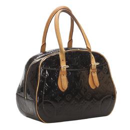 Louis Vuitton Black Monogram Vernis Summit Drive Bag 358814