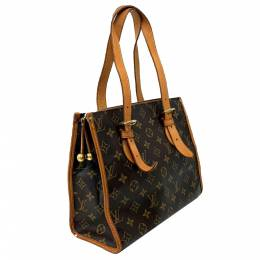 Louis Vuitton Brown Monogram Canvas Popincourt Haut Bag 357709