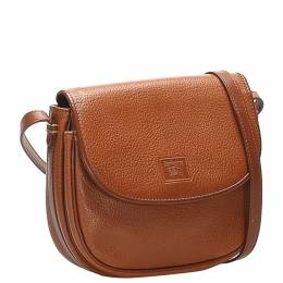 Burberry Brown Leather Crossbody Bag 358521