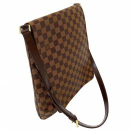 Louis Vuitton Brown Damier Ebene Musette Bag 357657
