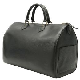 Louis Vuitton Black Epi Leather Speedy 40 Boston Bag 357648