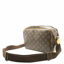 Louis Vuitton Brown Monogram Canvas Reporter PM Bag 357646