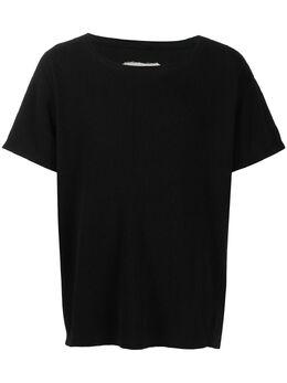Greg Lauren футболка с короткими рукавами и круглым вырезом AM174