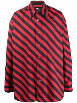 Marni parallel striped oversized shirt CUMU0169A0S53322