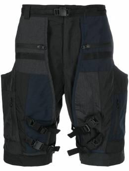White Mountaineering шорты карго с карманами WM2071402