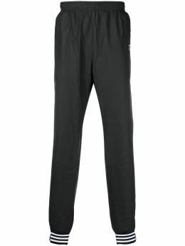 Adidas спортивные брюки с полосатыми манжетами GM4629