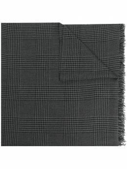 Faliero Sarti клетчатый шарф с бахромой I212012