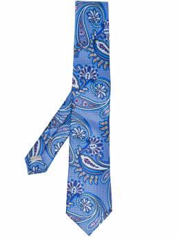 Canali галстук с узором пейсли 18HJ01290