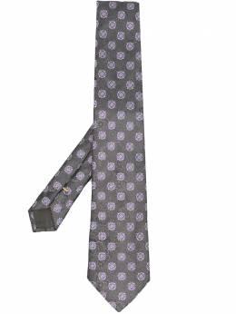 Canali галстук с цветочным узором 18HJ00463