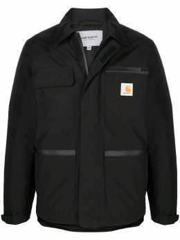 Carhartt Wip пальто на молнии с нашивкой-логотипом I0282128900