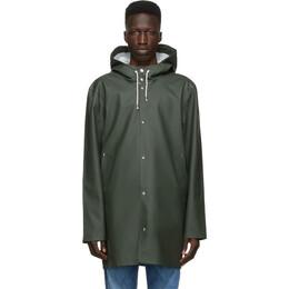 Stutterheim Green Stockholm Raincoat 1003