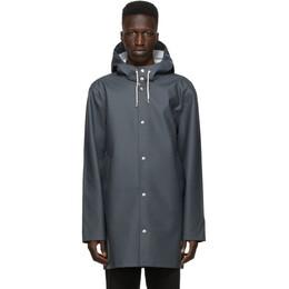 Stutterheim Grey Stockholm Raincoat 1002