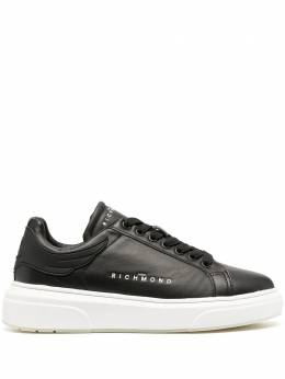 John Richmond leather lace-up sneakers 3110