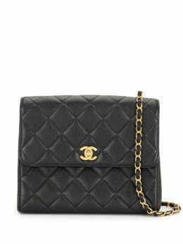Chanel Pre-Owned стеганая сумка на плечо 1997-го года с логотипом CC 4360584