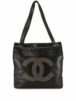 Chanel Pre-Owned сумка на плечо с логотипом CC WB1918CHNLBG