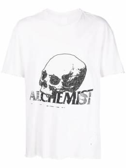 Alchemist logo-print short-sleeve T-shirt ALDRFW20MJSST03
