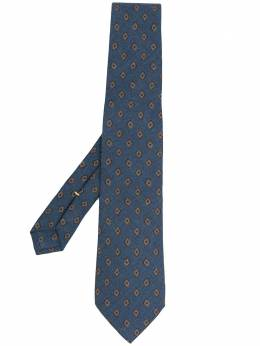 Canali галстук с узором 18HJ01324