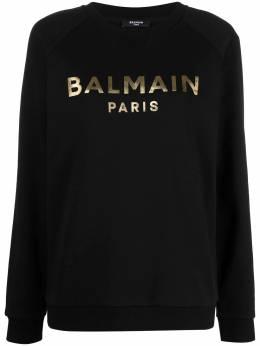 Balmain logo-print sweatshirt VF13691B021