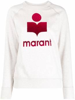 Isabel Marant Etoile толстовка с длинными рукавами и логотипом SW003721P066E