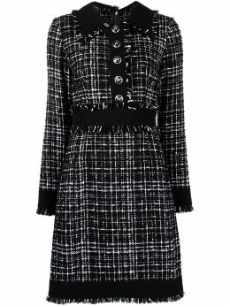 Dolce&Gabbana tweed mini dress F6H1WTFMMFS