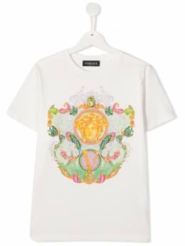 Young Versace футболка с декором Medusa 10000521A00124
