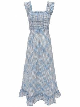Хлопковое Платье Ganni 73IRT7054-Njk00