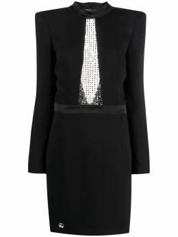 Philipp Plein платье мини с кристаллами S20CWRG1377PTE003N