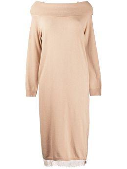 Twin-Set платье с открытыми плечами 192TT3091