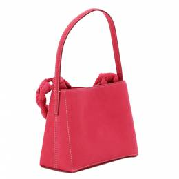 Jacquemus Pink Leather Le Sac Noeud Braded Handle Mini Bag 361756