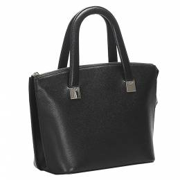 Celine Black Calf Leather Satchel Bag 358626