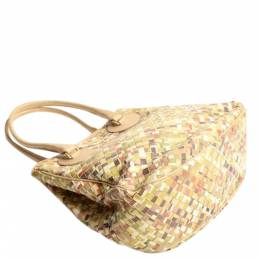 Bottega Venneta Multicolor Intrecciato Woven Tote Bag Bottega Veneta 360339
