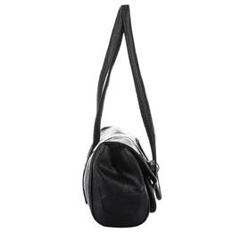 Burberry Black Leather Shoulder Bag 358705