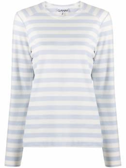 Ganni striped long-sleeve T-shirt T2714