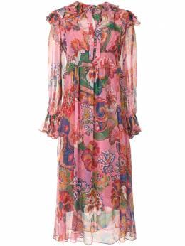 Zimmermann платье миди Lovestruck 9947DAND