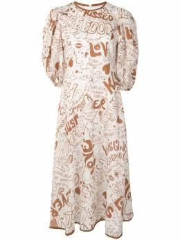 Zimmermann платье миди Lined Day 9716DRAND