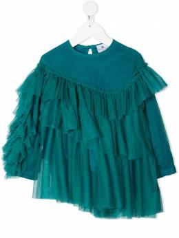 Raspberry Plum ярусная блузка Nira из тюля T4BAW20