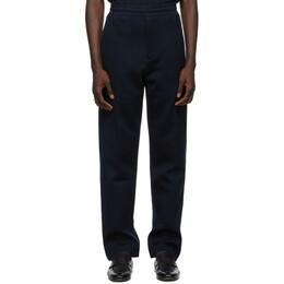 Dunhill Navy Jersey Lounge Pants DU21RL074AD