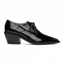 Gianvito Rossi Black Patent Ryles Oxfords G25161.45CUO.SMA