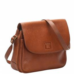 Burberry Brown Leather Shoulder Bags 359382