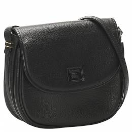 Burberry Black Leather Shoulder Bags 358884
