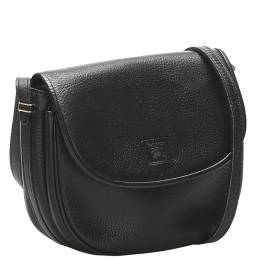Burberry Black Leather Shoulder Bags 359268