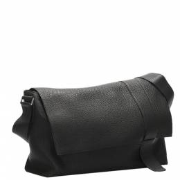 Hermes Black Togo Leather Sac Alfred 35 Bag 356640