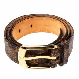Louis Vuitton Damier Ebene Ellipse Belt 85 CM 363880