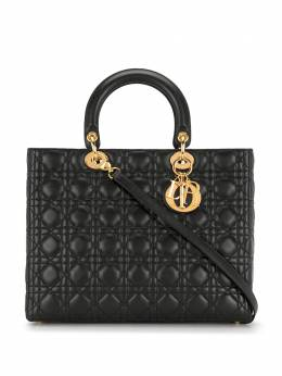 Christian Dior сумка Lady Dior Cannage pre-owned MA1939