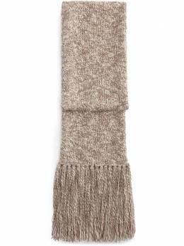 Dolce&Gabbana шарф с бахромой GXC88TJAM8G