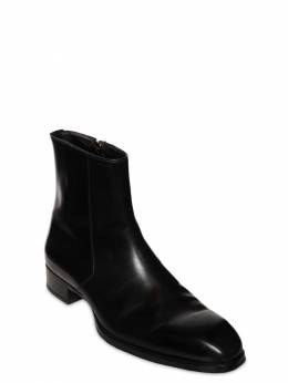 27mm Leather Ankle Boots Tom Ford 73IY1E006-VTkwMDA1